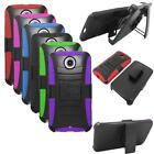 Phone Case For Motorola Nexus 6 Rugged Cover Stand + Holster for Google Nexus 6