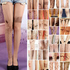 Trendy Sexy Tattoo Pattern Temptation Sheer Pantyhose Tights Stockings
