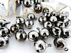 10x14mm 25/50/100/200/500grams SILVER ALLOY METAL BELL  MB0935