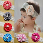 Colorful Baby Toddler Girl Princess Big Flower Headband Hair Band Accessories