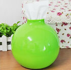 1x Home Decor Paper Pot Toilet Bath Table Tissue Holder Dispenser Box Cover Case