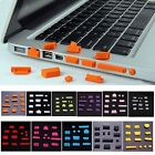 "13 Pc Silicone Anti-Dust Port Plug Cover Protector For 11"" Macbook Air Laptop PC"