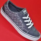 NEW Boy's Youth VANS OLD SKOOL Gray Checker Athletic Sneakers  Skate Shoes