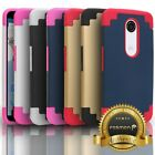 Hybrid Dual Layer Shockproof TPU + PC Protective Slim Fit Case Cover For Nexus 6