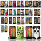 Multi-Colors Hard Shell Plastic Cover Snap-On Case Cover For Motorola Moto G