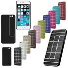 Deluxe Ultra-thin Brushed Metal Aluminum Grid Hard Case Cover for iPhone 6 4.7""