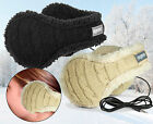 WINTER FURRY WARM AUDIO HEADPHONE EARMUFFS IPHONE IPOD MP3 DEGREES 180s LUSH