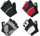 New Padded Cycling Gloves Fingerless Half Finger Light Weight for Bike Bicycle