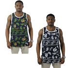 Society Original Rose Vines Camo Vineyard Men's Tank Top Shirt