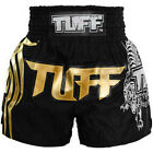 Tuff Muay Thai Boxing Black Shorts 201 Kick Boxing Training Free Shipping