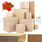 SINGLE & DOUBLE WALL CARDBOARD POSTAL REMOVAL MOVING BOXES - ALL SIZES / QTY'S