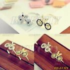 Lovely Adjustable Ring Bike Bicycle Pattern Golden / Silver Korean New Fashion