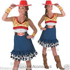 CL307 Adult Sassy Jessie Cowgirl Toy Story Costume Adult Halloween Fancy Dress