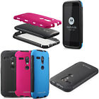 For Motorola Moto G Rugged Impact Hybrid Hard Heavy Duty Case Cover Accessory