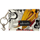 Sakroots Artist Circle Flap ID Keychain 14 Colors Ladies Key/Card/Coins Case NEW
