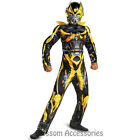 CK320 Transformers Bumblebee Muscle Child Boys Hero Movie Fancy Dress Up Costume
