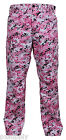 military style cargo pants bdu trousers pink digital camo rothco 99650