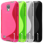 TPU S-Line Soft Cover Back Case Cover for Samsung Galaxy S4 Active i9295 i537
