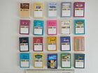 50 or 500 TRIVIAL PURSUIT Questions Game Cards Many Editions Available