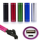 2600mAh Portable Power Bank External Mobile USB Battery Charger for Cell Phone