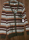 NWT 2X 3X or 4X Artful Dodger Men's CHESTNUTCONSPIRE CARDIGAN SWEATER $148 tags