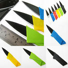 ALL Purpose Folding Hunting Survival Camping Pocket Military Credit Card Knife