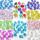 100 Accounts Of Fake Artificial Acrylic Ice Cubes Crystal In Many Colors