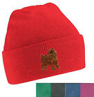 Griffon Bruxellois Beanie Hat Embroidered by Dogmania