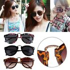 Fashion Unisex Women's Retro Arrow Style Sunglasses Metal Frame Round Sunglasses