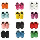 Soft Tassel Baby Sole Leather Shoes Infant Boy Girl Toddler Moccasin 0-24 Months