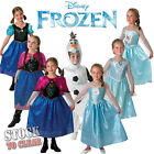 DISNEY FROZEN ANNA ELSA OLAF Fancy Dress Costumes Licenced Fever Ranges