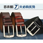 P-839 New Men's 2015 Genuine Leather Waist Stylish Fashion Belt Free Shipping