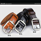 P-836 New Men's 2015 Genuine Leather Waist Stylish Fashion Belt Free Shipping