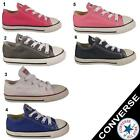 Converse Toddlers  Infant  Unisex All Star Chuck Taylors Trainers Shoes UK 4 - 9