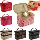 Travel Toiletry Useful Cosmetic Bag Makeup Case Organizer Zipper Holder Handbag