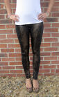 EXTRA LONG Leggings Snakeskin with Spandex SIZES 8 - 20 Tall