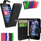 FLIP WALLET CASE POUCH PU LEATHER COVER FOR NOKIA / MICROSOFT LUMIA 640 + SP+PEN