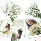 New Good Silk Artificial Baby Breath Gypsophila Flower Wedding Bridal Bouquets