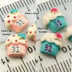 Mini Kawaii Flat Back Resin Ice Cream Sundae Cabochon Charm
