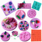 3D Silicone DIY Cookies Embossing Mold Sugarcraft Cake Decoration  Baking Tools