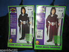 BOYS DARK SKULL WARRIOR COSTUME NWT RUBIES  MEDIUM 8-10 & LARGE 12-14