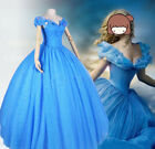 New Disney Movie Sandy Princess Cinderella Dress Cosplay Costume / Shoes