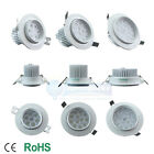 12W/24W/36W SMD Retrofit Recessed LED Can light Trim Ceiling Downlight Lamp E1A