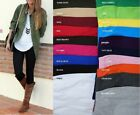Women's Cotton Spandex  Full Length Leggings Pants Misses N Plus S-5x  20 Colors