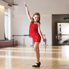 In Stock LIMITED EDITION Red Fringed Jazz Tap Modern Dress All Sizes