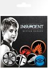 Divergent Insurgent Factions Badge Pack 10x15cm
