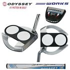 New Custom Made Odyssey Works  Versa Tank 2 Ball  Fang Putter-Choose length-Lie