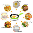 Multifunction Mini Automatic Electric Egg Boiler Cooker Food Steamer Pan-fried B