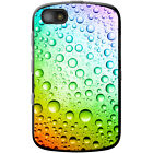Coloured Water Droplets Hard Case For Blackberry Models
