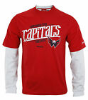 Reebok NHL Hockey Men's Washington Capitals Novelty Shirt - Red / White